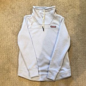 Vineyard Vines Sweater Fleece Funnel Neck Shep